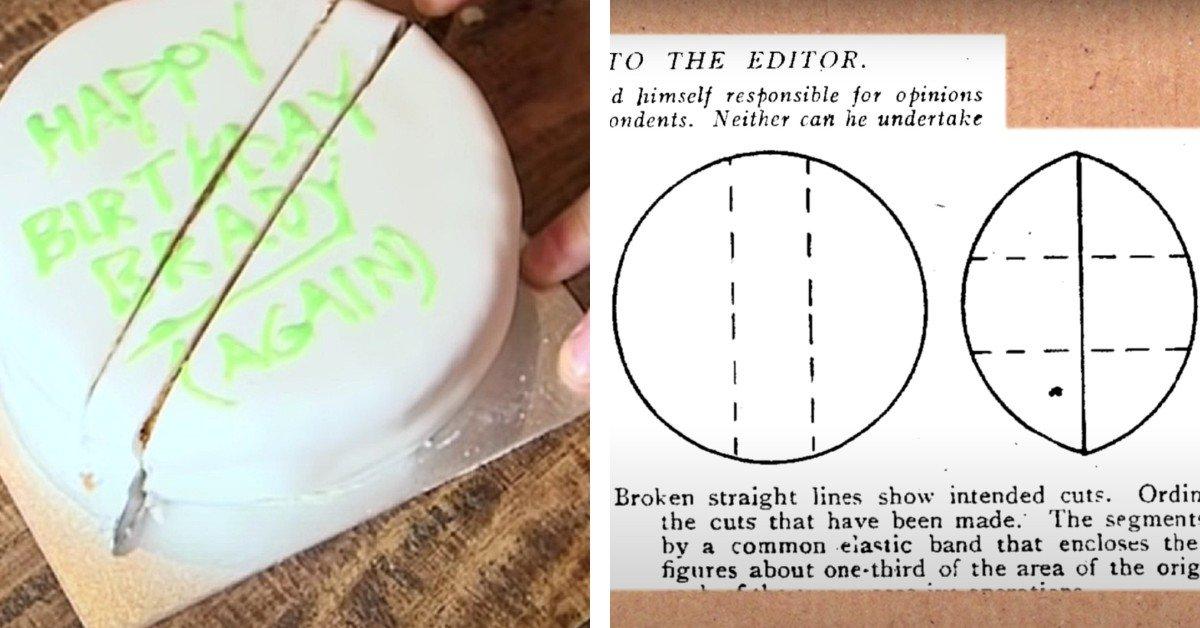 cut a round cake