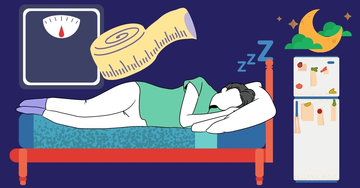 lose weight when sleeping