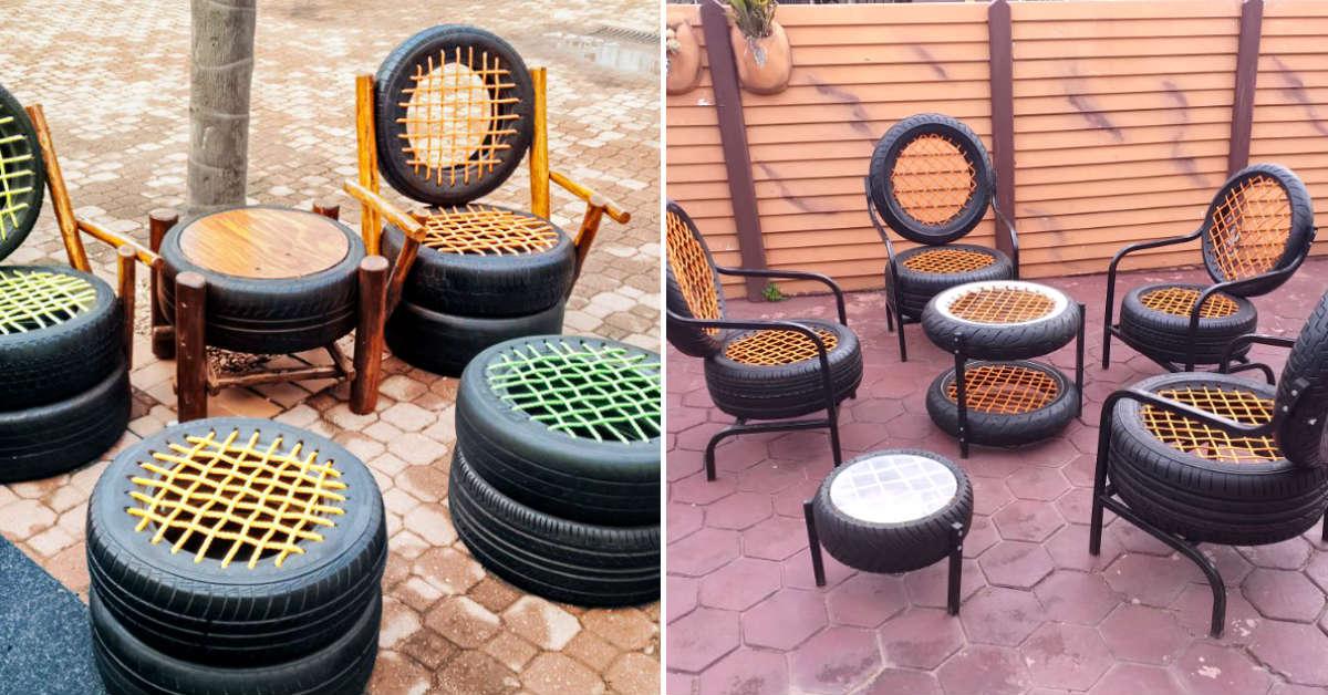Tire Furniture Ideas Cook It