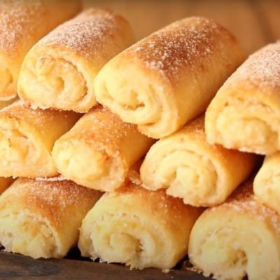 cottage cheese rolls