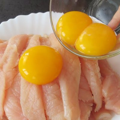 egg yolk chicken