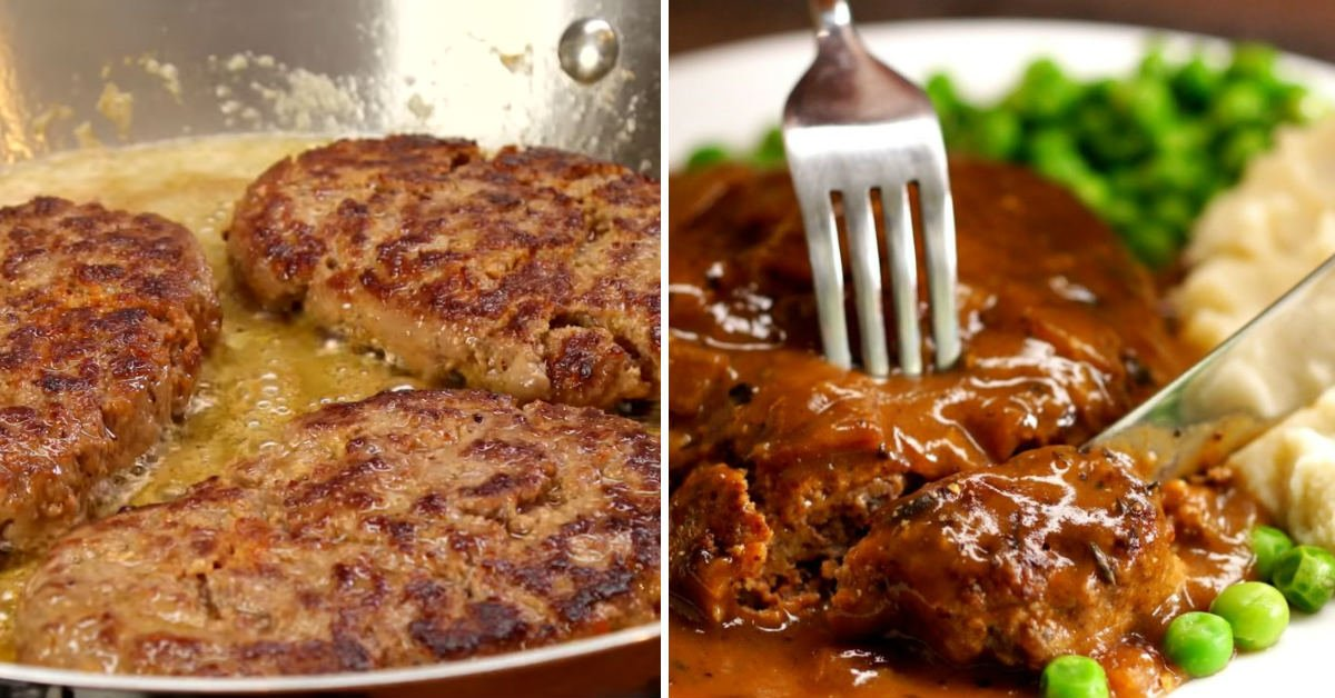 Juicy Salisbury Steak