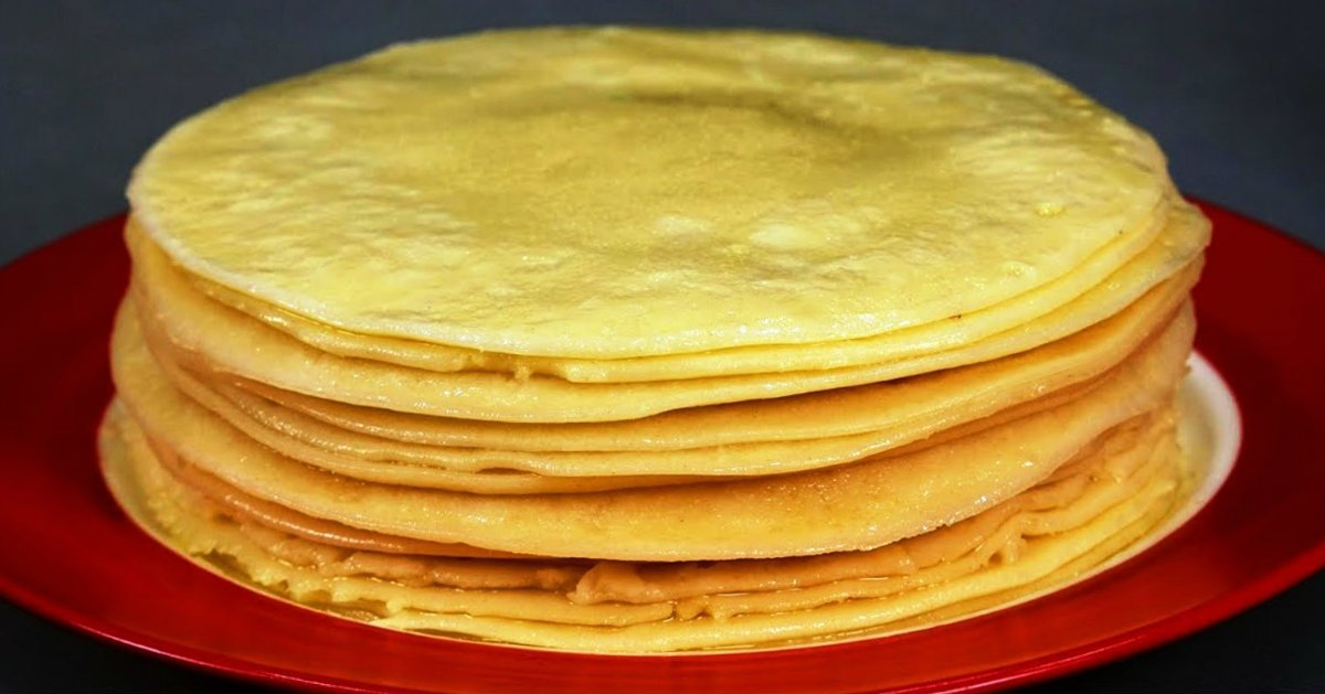Microwave Crepes