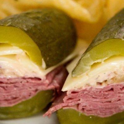pickle sandwiches